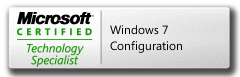 MCTS 70-680 Microsoft Certified Technology Specialist Windows 7, Configuring